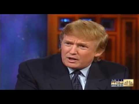 FLASHBACK Trump Calls For Pre-emptive Strike On North Korea In 1999