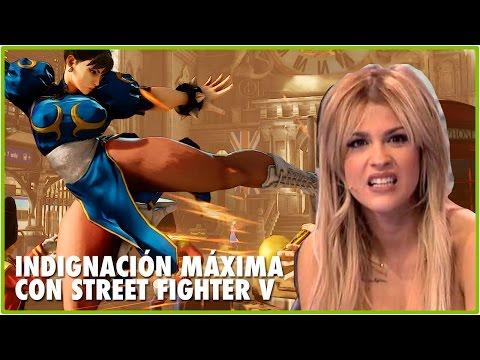 INDIGNACIÓN MÁXIMA CON STREET FIGHTER V | Jota Delgado