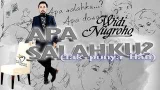 WIDI NUGROHO APA SALAHKU OFFICIAL LYRICS VIDEO