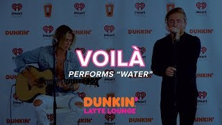 VOILÀ Performs 'Water' Live | DLL