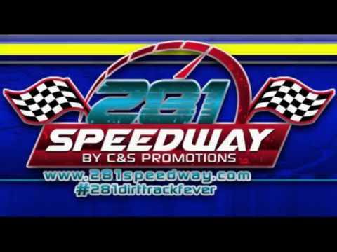 Lone Star Dwarf Car's @ 281 Speedway 8 19 2017