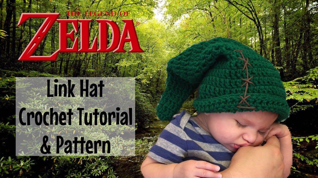 Link Hat   The Legend of Zelda - Crochet Pattern   Tutorial - YouTube 05d2d6d13dc