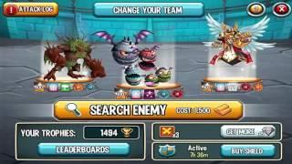 Monster Legends  - Age Of Castles Island In Monster Legends GamePlay Episode 10
