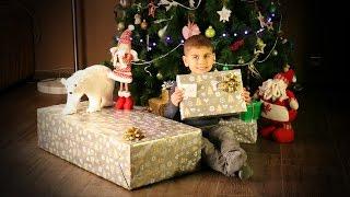 ОГРОМНЫЙ подарок от Nikolaus, еле унесли домой. Николаус на пожарной машине.