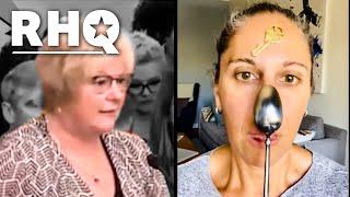 Anti-Vaxx Karen Says Vaccine Gives Us Super Powers?!