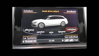 Налаштування Автомобіля Audi A6 - Рестайлінг 2014