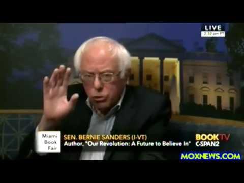 Bernie Sanders Answers C-SPAN Phone Caller Questions