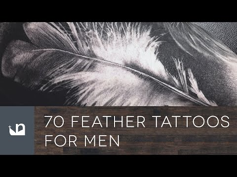 70 Feather Tattoos For Men