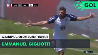 Emmanuel Gigliotti (0-2) Argentinos Jrs. vs Independiente | Fecha 11 - Superliga Argentina 2018/2019