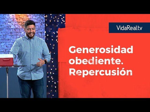 Generosidad Obediente. | Repercusión | Pastor Ricky Ziesse