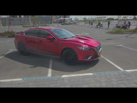 Mazda 6 Carbon Project RED 2.5 from DJI Mavic Pro - 4K