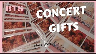 Bts [ 방탄소년단 ] Concert Gifts  Give Away | Love Yourself: Speak Yourself