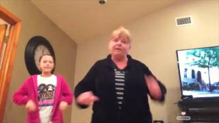 Oma does the Nae Nae! Must Watch. Hilarious! !!