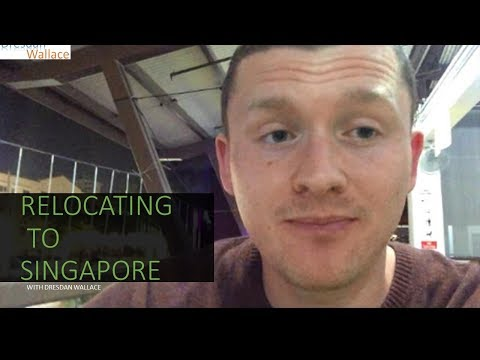 Relocating to Singapore with a job secured // Expat living
