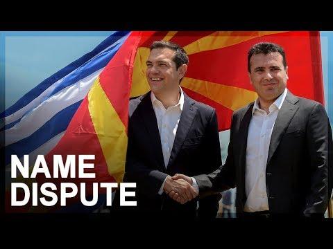 Greek-Macedonian name dispute