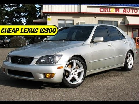 2002 Lexus IS300 Sports Silver Sedan For Sale Under $9000 At ...