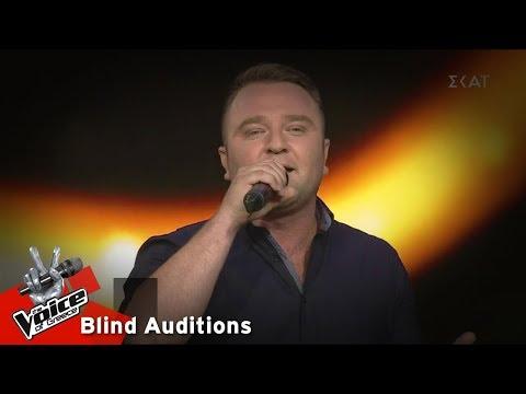 Θανάσης Κουτσιαρής - Φύσηξε ο Βαρδάρης | 14o Blind Audition | The Voice of Greece
