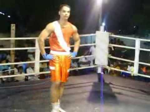 Tamilnadu boxer Vinoth State boxing Champion,chennai