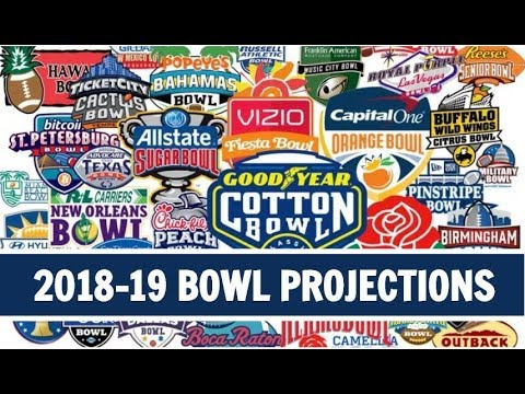College Football Bowl Schedule 2018-19: Complete List of Games