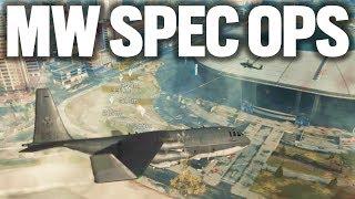 Modern Warfare SPEC OPS Exclusive Gameplay OPERATION HEADHUNTER  (COD MW Spec Ops)