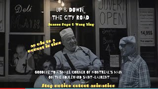 Stop-motion animation. Up & Down the City Road by Jeanne Pope