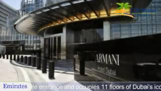 Armani Hotel Dubai - Dubai Hotels, UAE