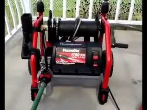 Homelite Hydrosurge Pressure Washer Review