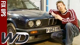 Improving Engine Performance - BMW325i - Wheeler Dealers