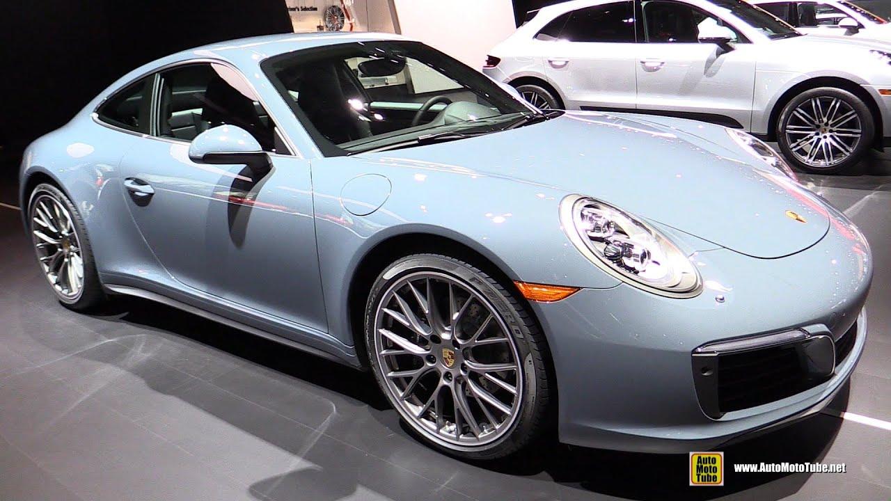 2017 Porsche 911 Carrera 4 Exterior And Interior Walkaround 2016 New York Auto Show You