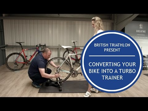 Converting your bike into a turbo trainer