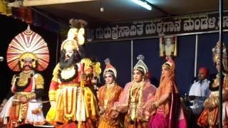Yakshagana - Bheeshma vijaya - Saligrama mela - Yaji Bheeshma - Prasanna salva - Shashikanth ambe