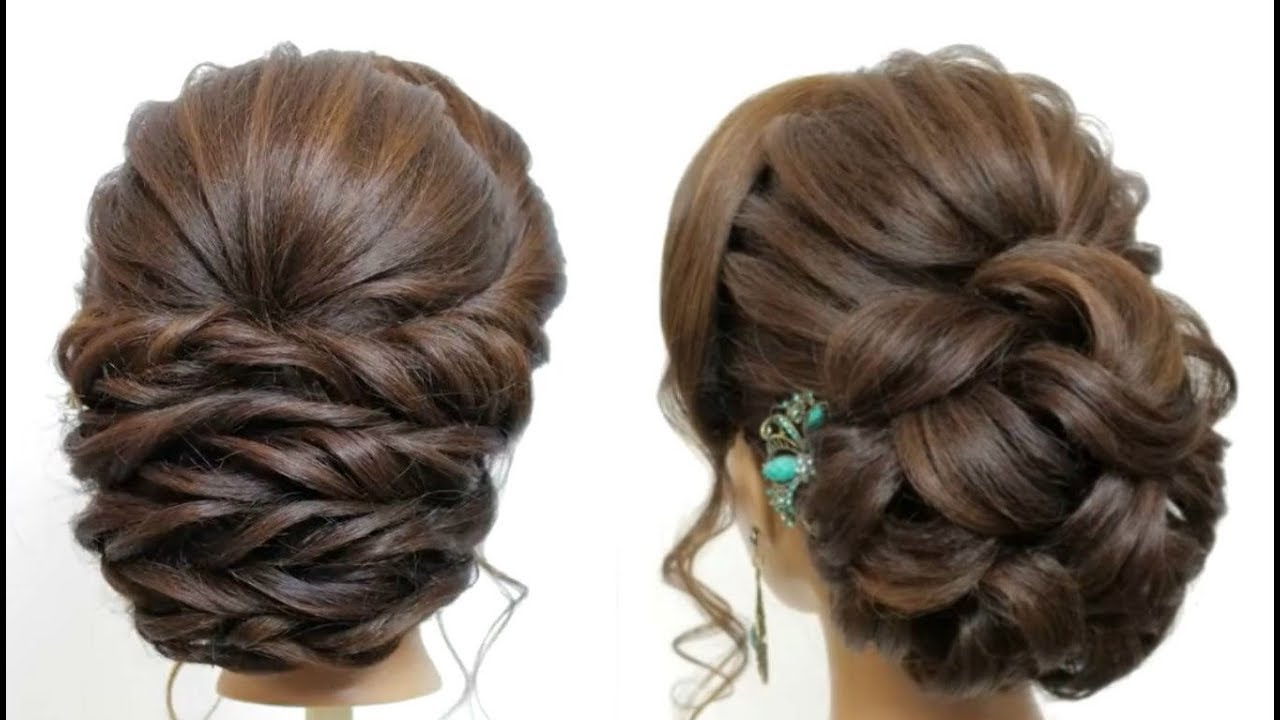 12 Easy hairstyles  Hairstyles for wedding  Bun hairstyles