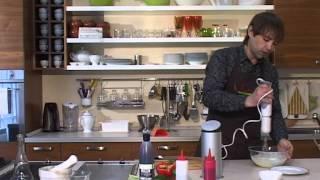 Завтрак в Анетти: омлет с творогом