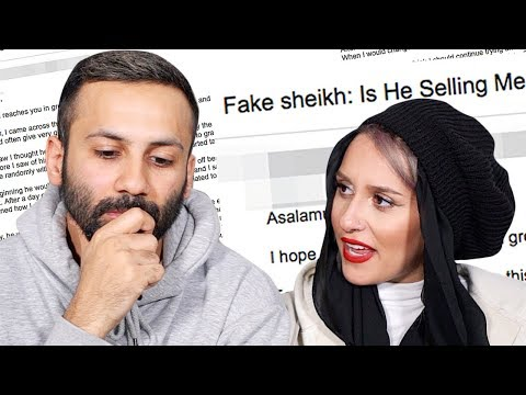 FAKE SHEIKH wants to meet in a HOTEL!