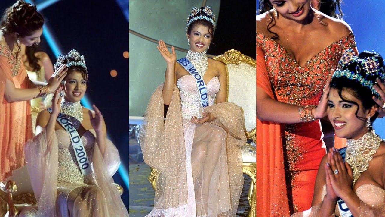 Miss World 2000 Priyanka Chopra S Crowning Moment Throwback