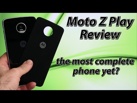 Moto Z Play Review | the most complete phone experience?