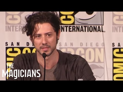 THE MAGICIANS | Eliot's Stripper Heels - San Diego Comic-Con 2016 | Syfy