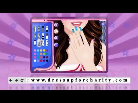 Selena Gomez Dress up game for charity