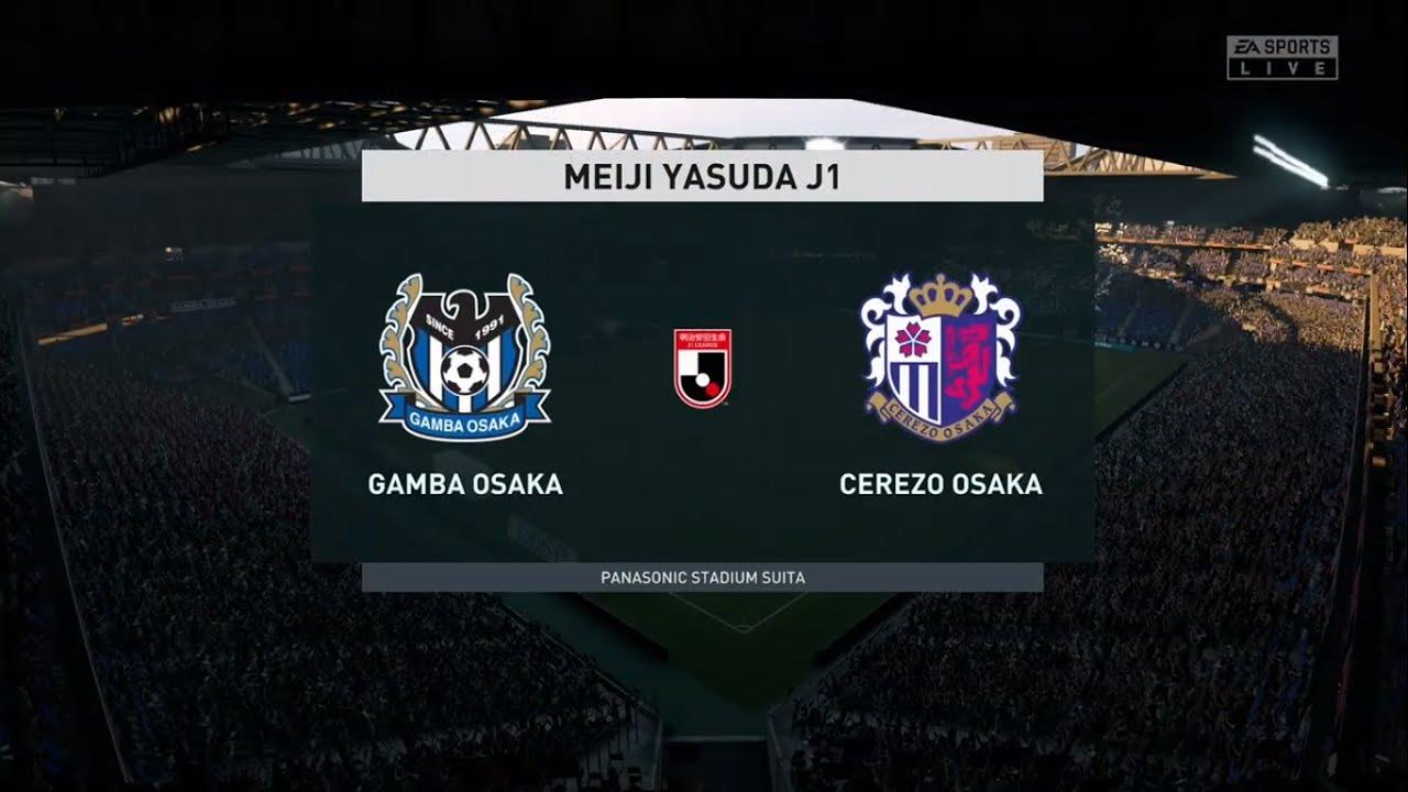 Gamba Osaka Vs Cerezo Osaka J1 League 04 07 2020 Fifa 20 Youtube