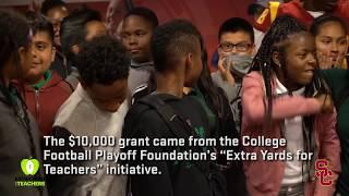 Trojan Outreach - CFP Extra Yard For Teachers