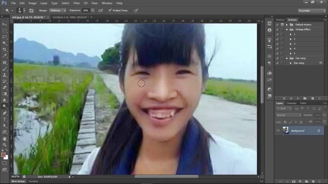 Không có gái xấu, chỉ có gái không biết Photoshop