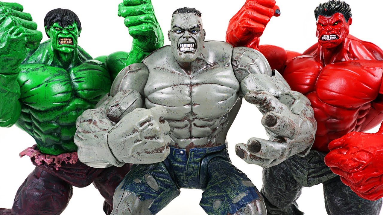 Marvel super transform gray hulk vs red hulk vs hulk - Pictures of red hulk ...
