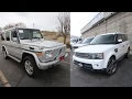 Car Shopping:  Mercedes G-Wagon or Range Rover Sport Supercharged