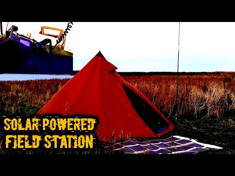 All WX Solar Powered Amateur Radio Field Station