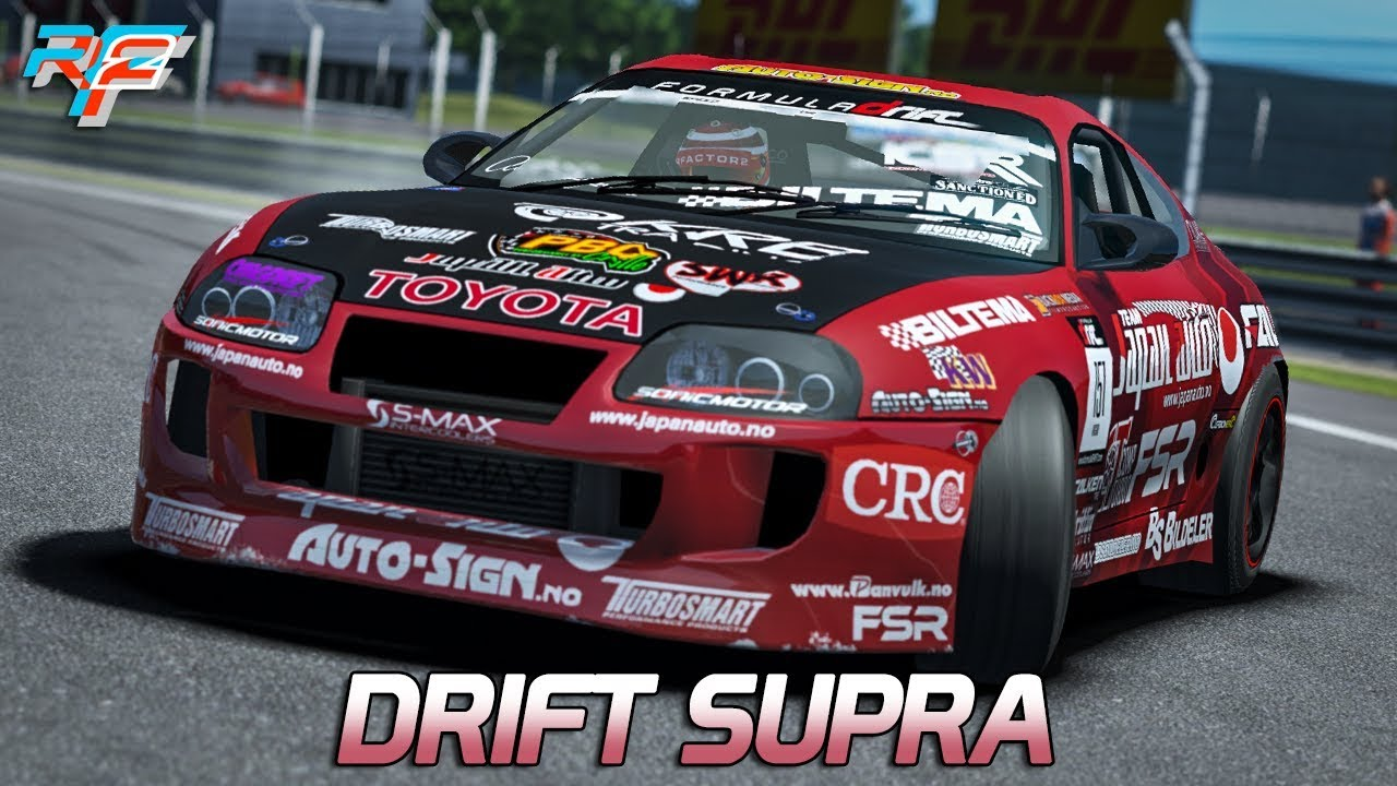 drift supra mod rfactor 2 dx11 ger toyota supra dijon prenois youtube. Black Bedroom Furniture Sets. Home Design Ideas