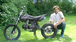 KXD 607 Dirt bike - Riding around