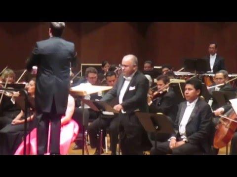 Stabat Mater. (II. Cujus Animam Gementem). Rossini. Camarena. López Reynoso. Ofunam