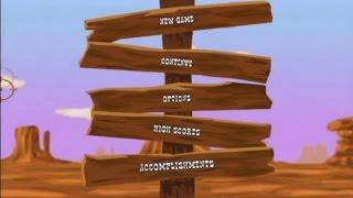 Wild West Shootout Wii Gameplay