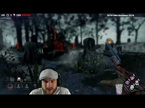 Dead by Daylight WITH...FREDDY! - I LOVE WHEN THEY CANT FIND IT!