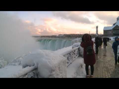 Arctic Temperatures Could Freeze Niagara Falls This Winter